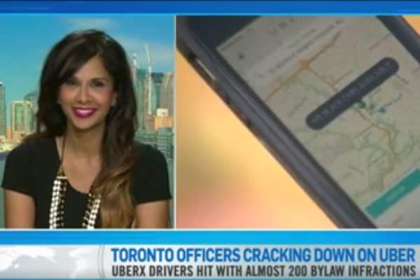 Toronto Officers Cracking Down on Uber