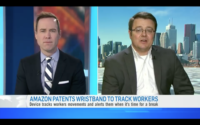 Amazon Patents Wristband To Track Workers