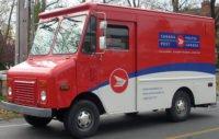 GMC Canada Post Truck