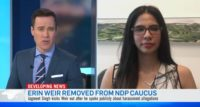 Erin Weir Removed From Ndp Caucus