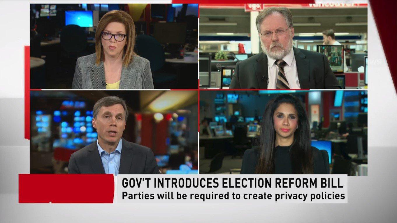 Gov't Introduces Election Reform Bill