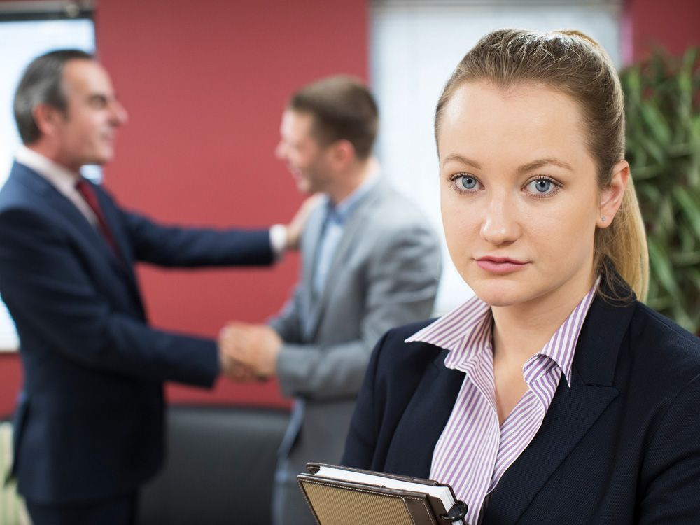 When men skip women for promotions, it's time for a visit to HR