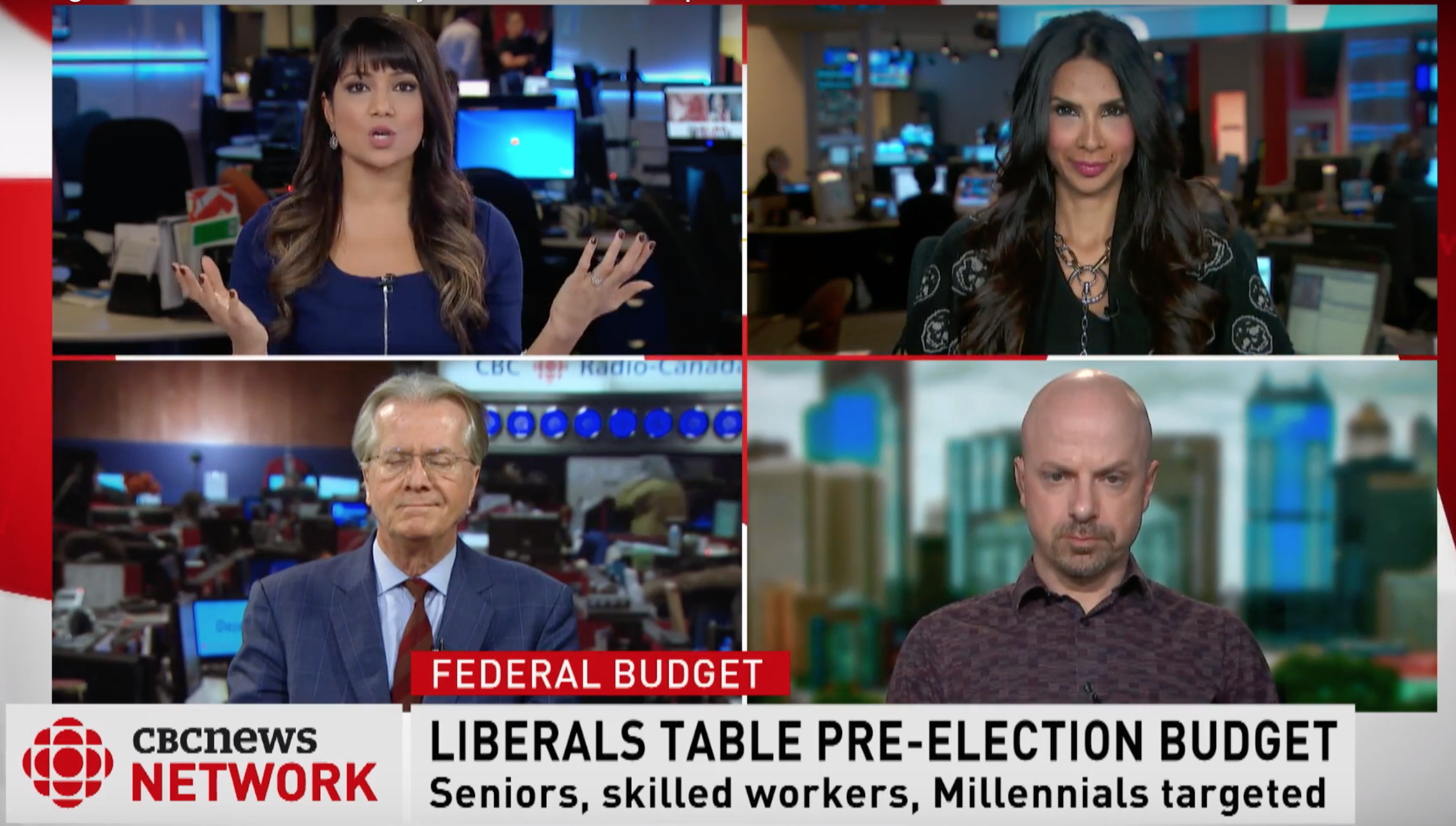 Liberals Table Pre-Election Budget