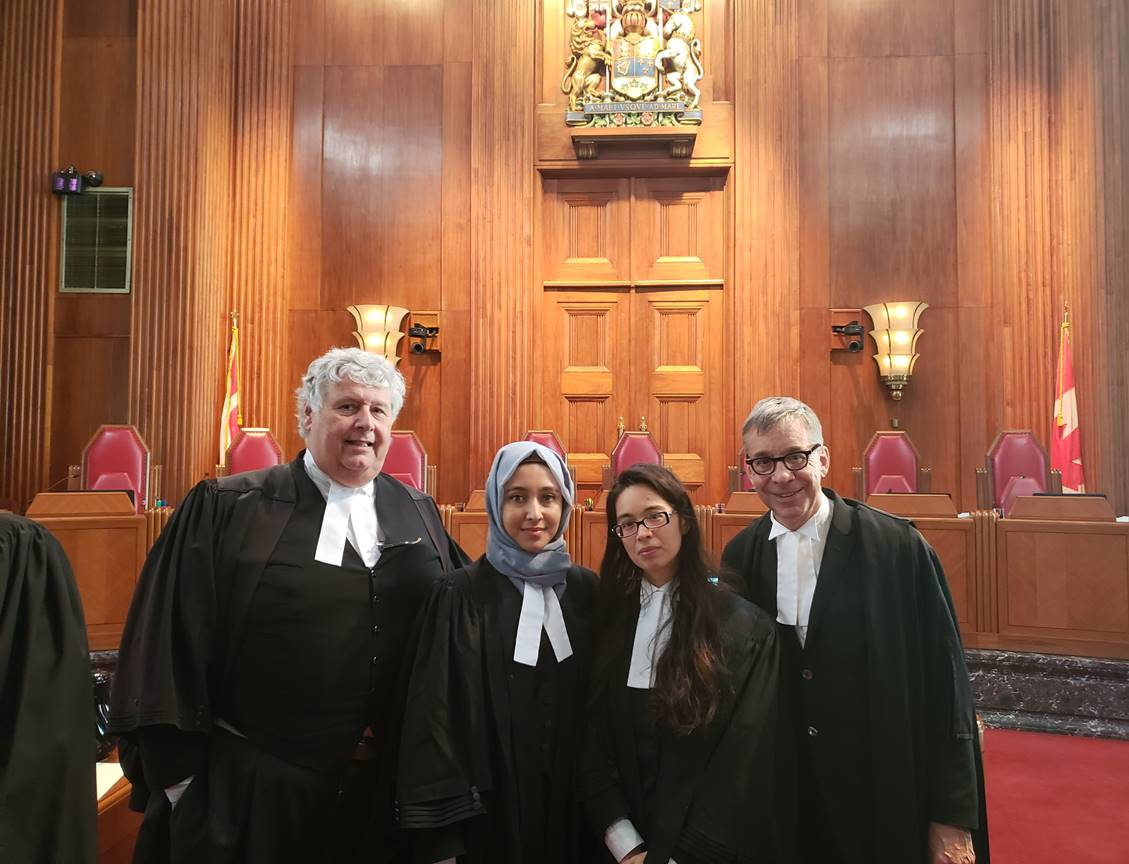 Our Team at the Supreme Court of Canada