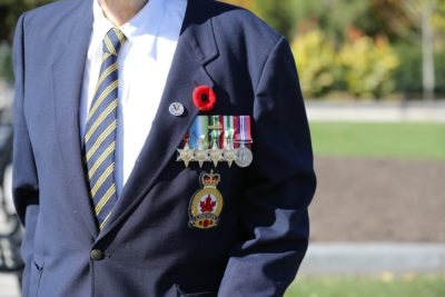 Remembrance day in Canada
